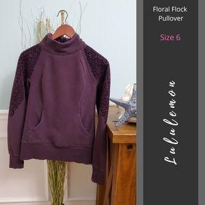 Lululemon | Floral Flock Pullover